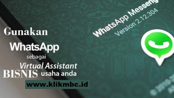 Transaksi Online WhatsApp